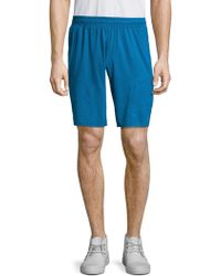 Mpg - Chequered Woven Shorts - Lyst