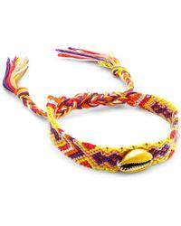 Fallon Armure Friendship Bracelet - Yellow