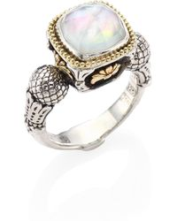 Konstantino | Nemesis Mother-of-pearl Doublet Ring | Lyst