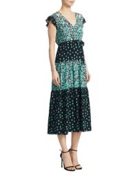Maje - Renoli Printed A-line Dress - Lyst