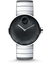 Movado - Edge Stainless Steel Watch - Lyst