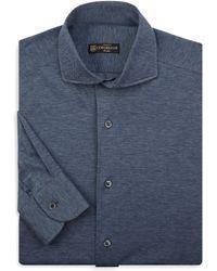 Corneliani - Classic Cotton Dress Shirt - Lyst
