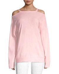 Vimmia - Repose Cold Shoulder Pullover - Lyst