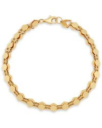 Lana Jewelry Two-strand Mini Kite Bracelet - Metallic