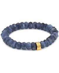 Nest Kyanite Stretch Bracelet - Blue