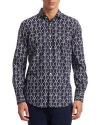 Ralph Lauren | Tennis Croquet-print Sport Shirt | Lyst