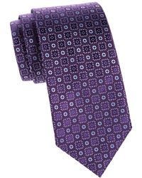 Charvet - Silk Button Tie - Lyst