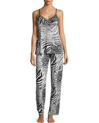 Natori - Animal Printed Pyjamas - Lyst