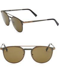 Ferragamo - Classic 52mm Aviator Sunglasses - Lyst