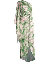 Significant Other Caspian Tropical Dress - Green