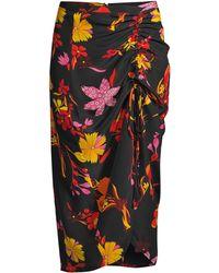 a29a82715a CJ by Cookie Johnson Steward Denim Maxi Skirt in Blue - Lyst