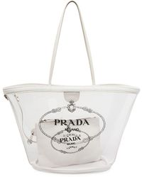 Prada - Small Plex Shopper - Lyst