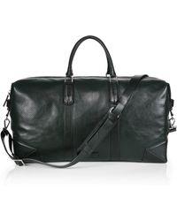 Uri Minkoff - Wythe Perforated Leather Weekender Bag - Lyst
