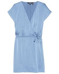 Theory - Wrap Romper - Lyst