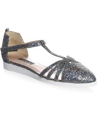SJP by Sarah Jessica Parker - Meteor Carrie Holographic Trainers Sandal - Lyst