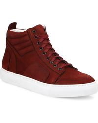 Del Toro - Suede High-top Trainers - Lyst