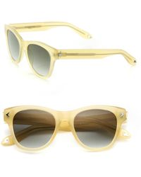 Givenchy - Women's 21mm Star-detail Rectangular Sunglasses - Dark Havana - Lyst