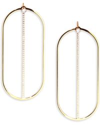 Vita Fede - Beverly Collection Anita Crystal Earrings - Lyst