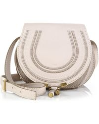 Chloé - Marcie Small Leather Saddle Bag - Lyst