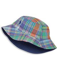 Ralph Lauren - Baby's Madras Bucket Hat - Lyst