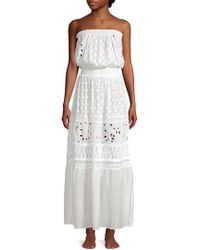 Ramy Brook - Isadora Strapless Embroidered Maxi Dress - Lyst