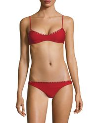 Same Swim - The Siren Bikini Top - Lyst