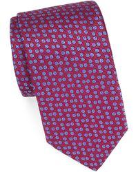 Charvet - Embroidered Silk Tie - Lyst