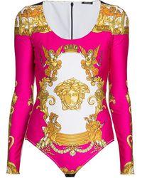 Versace Medusa Reinassance Bodysuit - Multicolor