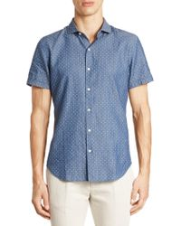 Bonobos - Dotted Cotton Shirt - Lyst