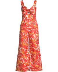 a2769f860ee Alexis - Women s Stas Floral Jumpsuit - Watercolor - Size Xl - Lyst