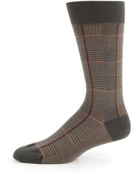 Pantherella - Strachey Plaid Socks - Lyst