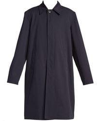 Balenciaga - Cotton Twill Car Coat - Lyst