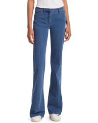 Theory - Demitria Flare Jeans - Lyst
