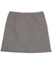 Theory A-line Mini Skirt - Multicolor