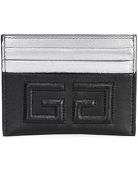 Givenchy - Emblem Leather Colorblock Card Holder - Lyst