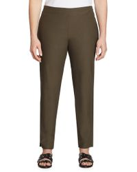 Eileen Fisher - Crepe Ankle Length Pants - Lyst