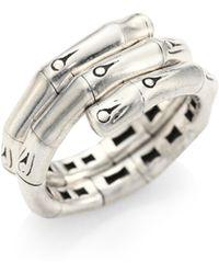 John Hardy - Bamboo Coil Ring - Lyst