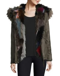 Sam. | Multi Mini Luxe Limelight Fur-trim Parka | Lyst