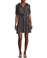 Rebecca Taylor - Vine Shirt Dress - Lyst