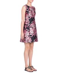 Dolce & Gabbana - Sleeveless Jacquard Dress - Lyst