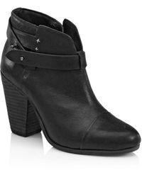 Rag & Bone 'Harrow' Leather Boot - Gray