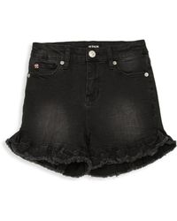 Hudson Jeans - Girl's Vintage Ruffle Shorts - Lyst