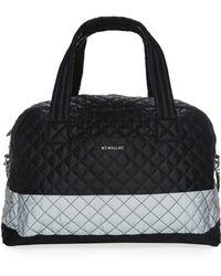 MZ Wallace - Oxford Jim Quilted Nylon Gym Bag - Lyst