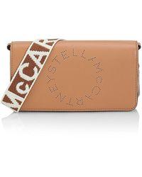 Stella McCartney Logo Strap Crossbody Wallet - Multicolor