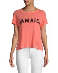 Wildfox - Jamaica T-shirt - Lyst