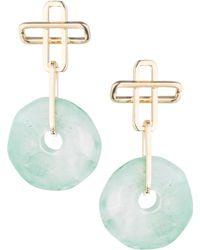 DANNIJO - Earhardt Earrings - Lyst