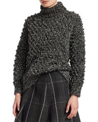 Dior - Wool Boucle Bubble Sweater - Lyst