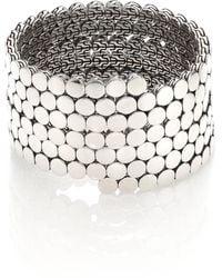 John Hardy - Dot Sterling Silver Multiple Coil Bracelet - Lyst