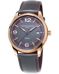 Frederique Constant - Healey Stainless Steel Automatic Strap Watch - Lyst