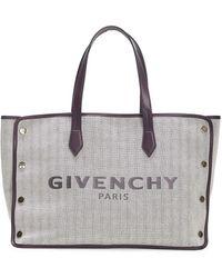 Givenchy Bond Cotton Shopping Bag - Natural